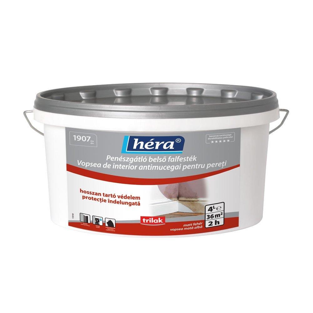Hera vopsea lavabilă antimucegai pentru interior 4l