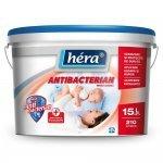 Hera Antibacterian vopsea lavabilă, albă, mată, pentru interior 4l