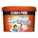 Oskar SuperWeiss Superlavabil antimucegai pentru interior 15l alb