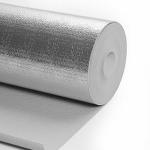 Folie PEE 5mm cu aluminiu, pentru parchet (izolație termică și fonică)