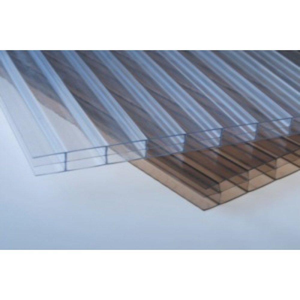 Placa policarbonat 10mm transparent