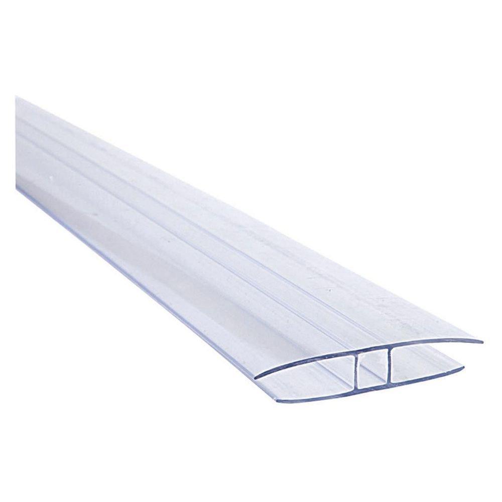 Profil H policarbonat transparent 6m
