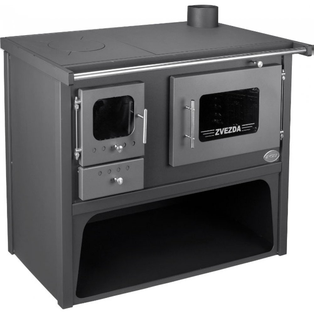 Sobă de gătit cu încălzire centrală ETS Classic Maxi VR10, 17kW (10+7)