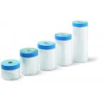 Bandă adezivă de acoperire cu țesătură albastră, rezistentă la UV, 240cmx17m