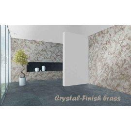 Vopsea decorativă cu efect de cristal 750ml pentru interior Crystal-Finish Brass
