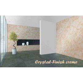 Vopsea decorativă cu efect de cristal 750ml pentru interior Crystal-Finish Creme