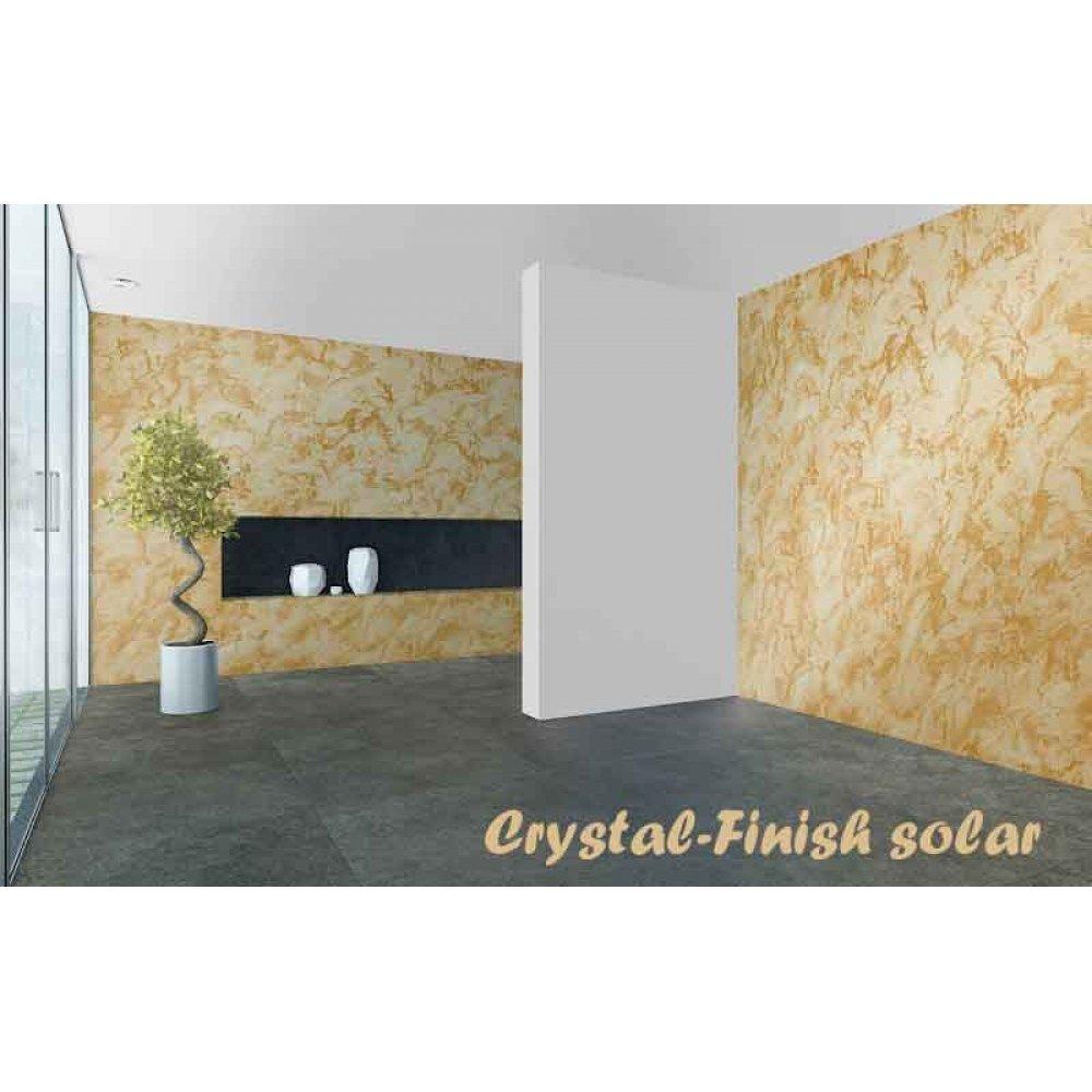 Vopsea decorativă cu efect de cristal 750ml pentru interior Crystal-Finish Solar