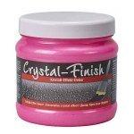 Vopsea decorativă cu efect de cristal 750ml pentru interior Crystal-Finish Neon Pink