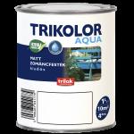 Trikolor Aqua email mat pe bază de apă 1l, pentru interior sau exterior - diverse culori
