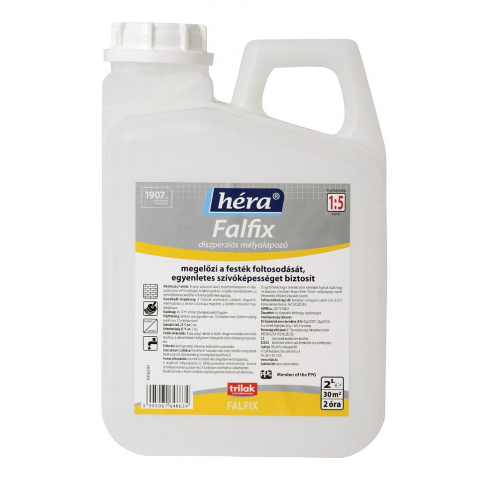 Hera Falfix grund de adâncime pentru interior/exterior 5l