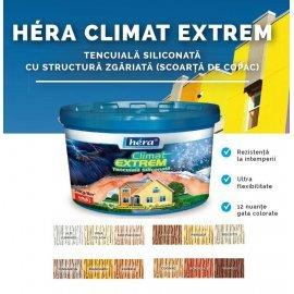 Hera Climat Extrem tencuială decorativă siliconată zgâriată 24 kg